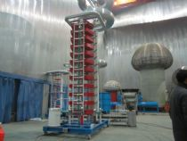 1200kV 120kJ Impulse Voltage Test System for ÖZGÜNEY ELEKTRİK LTD
