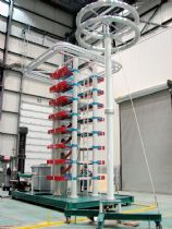 1600KV 120kJ Impulse Voltage Test System for Surplec INC