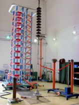 1800kV 180kJ Impulse Voltage Test System for NGK Insulators Tangshan Co